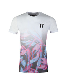 Eleven Degrees Mens Multicoloured S/S Sub Tee