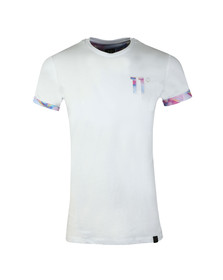 Eleven Degrees Mens White S/S Logo Tee