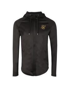 Sik Silk Mens Black Athlete Zip Through Hoodie