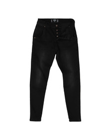 Sik Silk Mens Black Skinny Jean