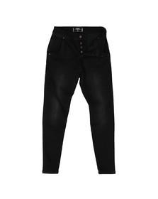 Sik Silk Mens Black Skinny Jean