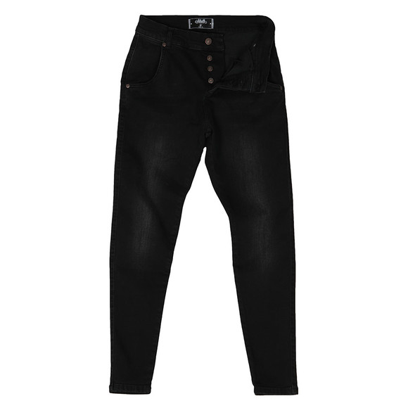 Sik Silk Mens Black Skinny Jean main image