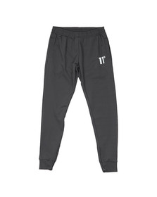 Eleven Degrees Mens Grey Poly Trousers