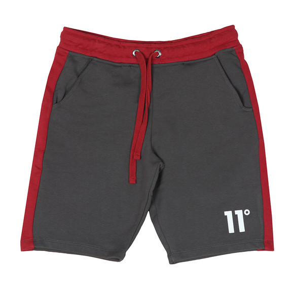 Eleven Degrees Mens Grey Block Sweat Shorts main image