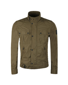 Belstaff Mens Green Gangster Nylon Blouson