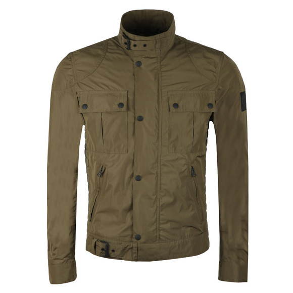 Belstaff Mens Green Gangster Nylon Blouson main image