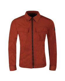 Belstaff Mens Red Talbrook Overshirt