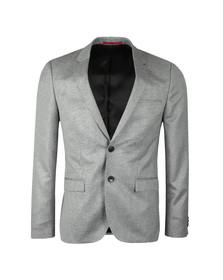 HUGO Mens Grey Arti 182 Blazer