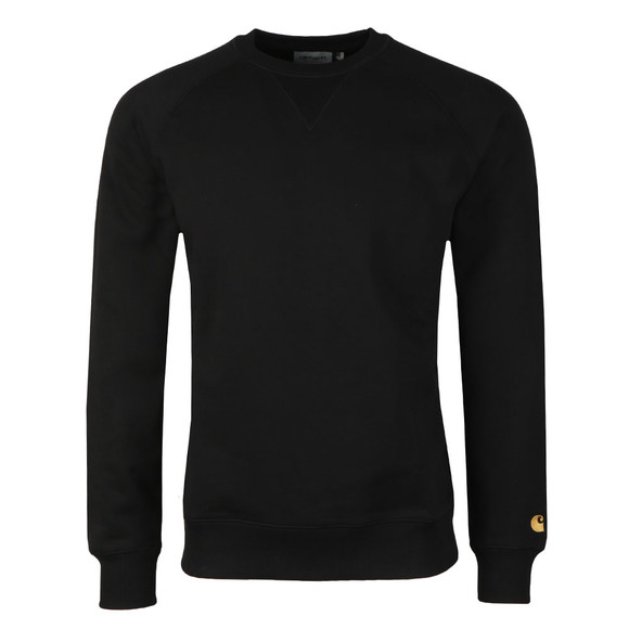Carhartt WIP Mens Black Chase Sweat