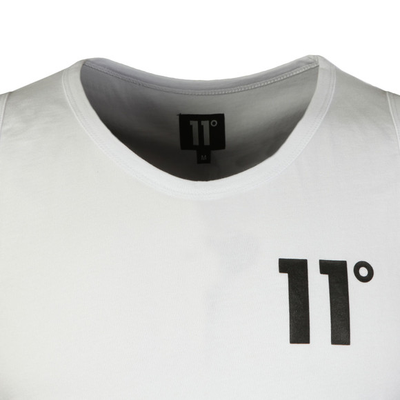 Eleven Degrees Mens White Core Basketball Vest main image