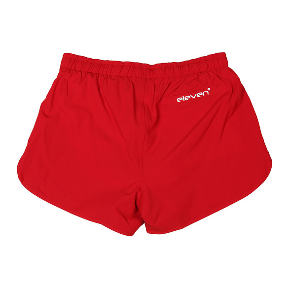 Eleven Degrees Mens Red Retro SwimShort main image
