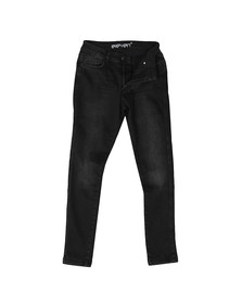 Eleven Degrees Mens Black Skinny Jeans
