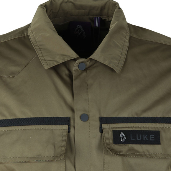 Luke 1977 Mens Brown Grilse Patch Pocket Shacket main image