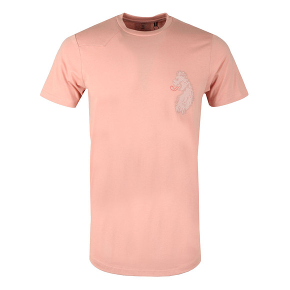 Luke Sport Mens Pink BackAnd5th Splion Print Tee main image
