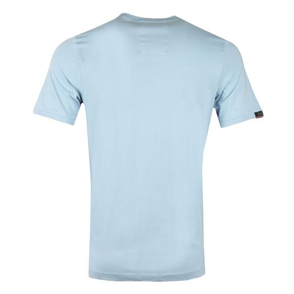 Luke Mens Blue Traff Core Crew T-Shirt main image