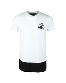Kings Will Dream Mens White Pembrook Digi Panel T Shirt