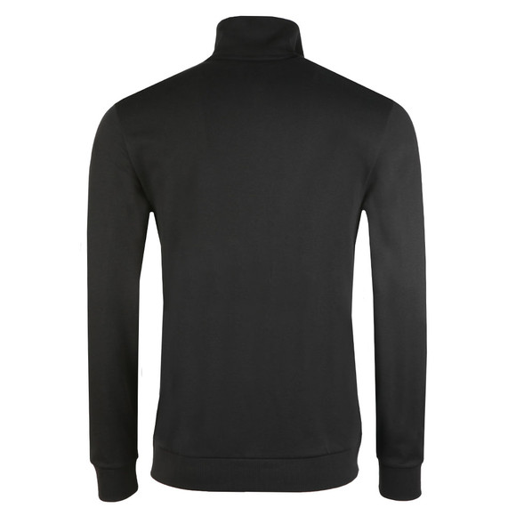 BOSS Loungewear Mens Black Full Zip Panel Top main image