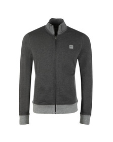 Boss Mens Black Zooms Full Zip Sweat