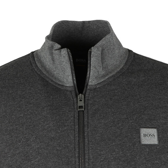 Boss Orange Mens Black Zooms Full Zip Sweat main image