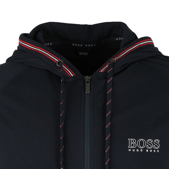 Boss Mens Blue Authentic Full Zip Hoody main image