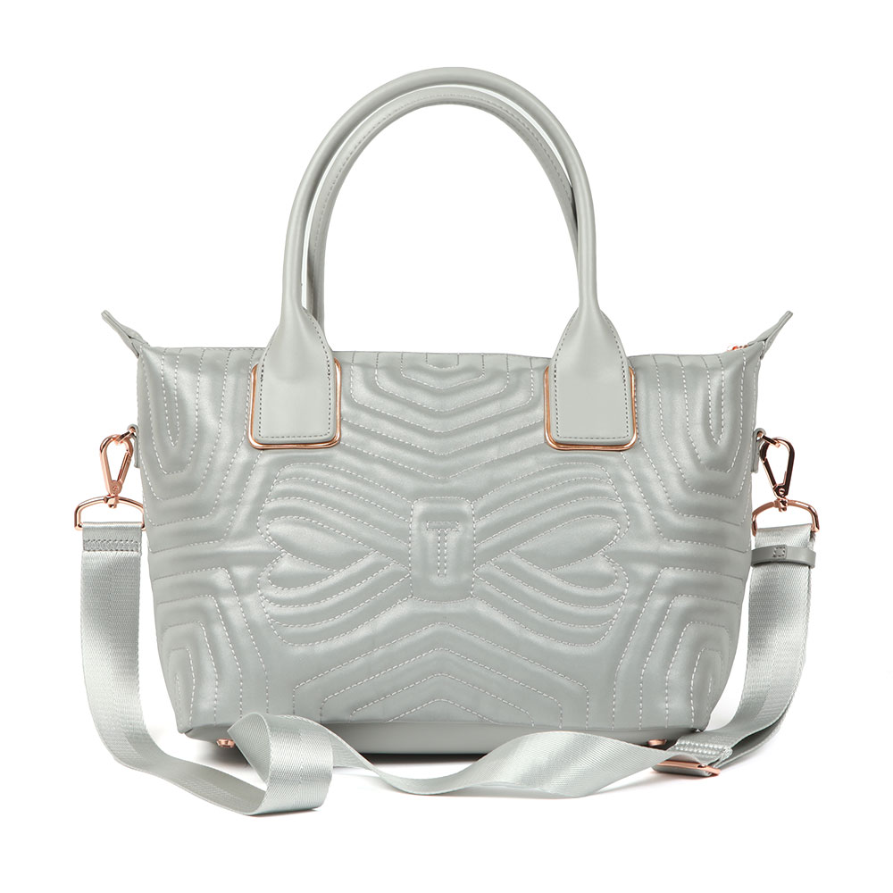 Carisee Small Reflective Quilted Tote Bag main image