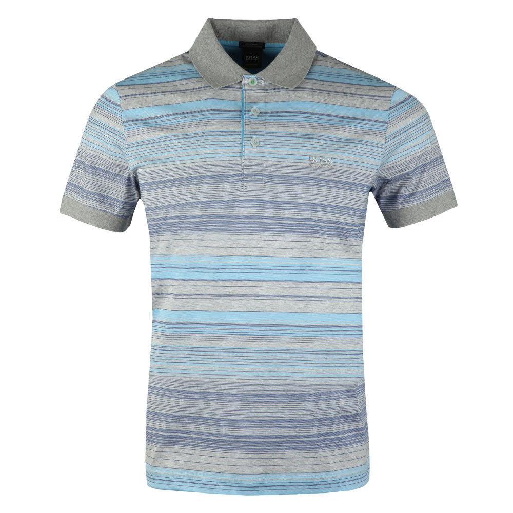 0ee95389d BOSS Athleisure Paddy 3 Stripe Polo Shirt | Oxygen Clothing
