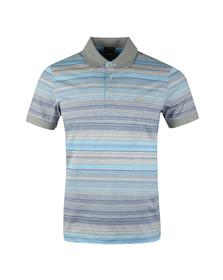 Boss Mens White Paddy 3 Stripe Polo Shirt