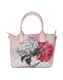 Ted Baker Womens Pink Emiaa Palace Gardens Small Nylon Tote