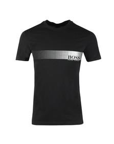 Boss Mens Black Slim Fit UV T shirt