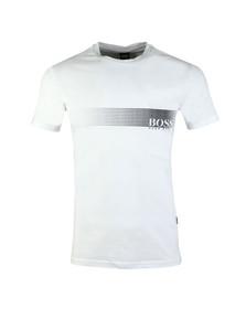 Boss Mens White Slim Fit UV T shirt