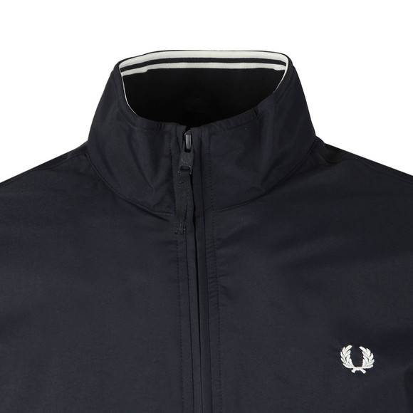 Fred Perry Mens Blue Brentham Jacket main image
