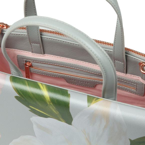 Ted Baker Womens Grey Peobe Chatsworth Bloom Tote Bag main image