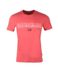 Napapijri Mens Pink S/S Sapriol T-Shirt