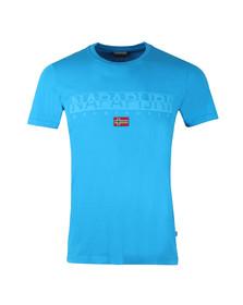 Napapijri Mens Blue S/S Sapriol T-Shirt