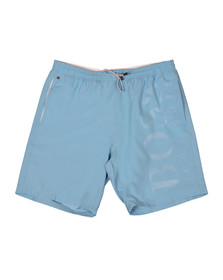 BOSS Mens Blue Orca Swim Short