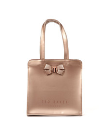 Ted Baker Womens Pink Kriscon Bow Detail Small Icon Bag