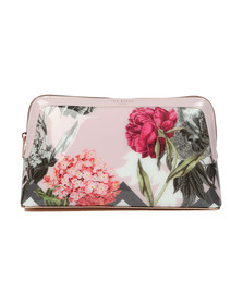 Ted Baker Womens Pink Gennie Palace Gardens Wash Bag