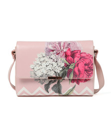 Ted Baker Womens Pink Teda Palace Gardens Xbody Bag