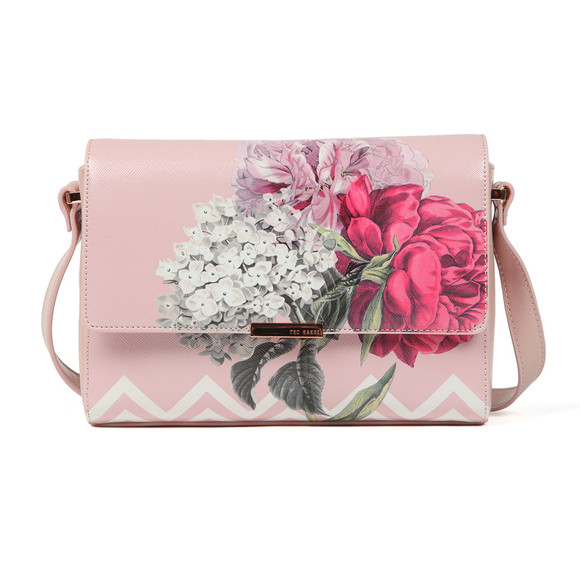 Ted Baker Womens Pink Teda Palace Gardens Xbody Bag main image