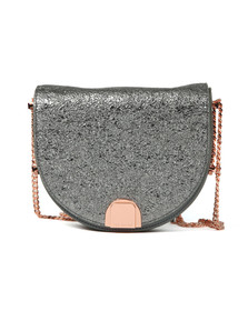 Ted Baker Womens Grey Roxaane Flip Case Moon Bag