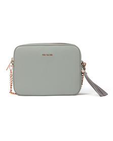 Ted Baker Womens Grey Amora Tassel Detail Camera Bag