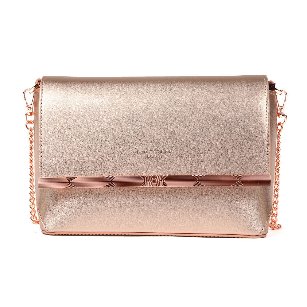 Melisaa Bow Embossed Xbody Bag main image