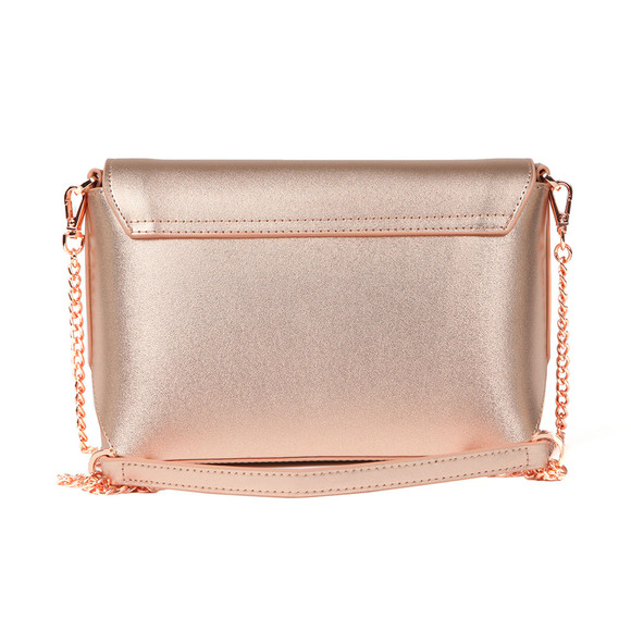 Ted Baker Womens Pink Melisaa Bow Embossed Xbody Bag main image