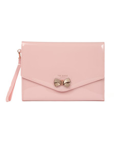 Ted Baker Womens Pink Luanne Bow Envelope Pouch