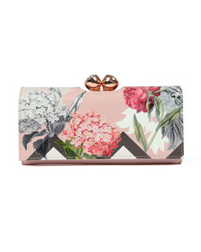 Ted Baker Womens Pink Bret Palace Gardens Bobble Matinee Purse