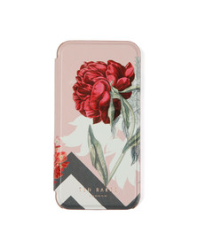 Ted Baker Womens Pink Carolyn Palace Gardens Iphone Flip Case