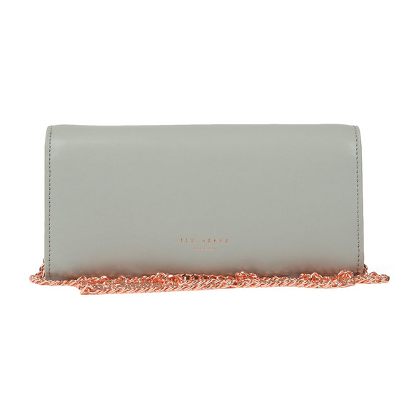 Ted Baker Womens Grey Natalie Metal Bar Matinee With Chain main image