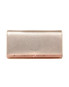 Ted Baker Womens Pink Natalie Metal Bar Matinee With Chain