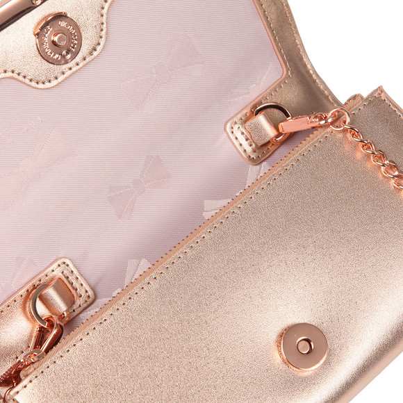 Ted Baker Womens Pink Natalie Metal Bar Matinee With Chain main image