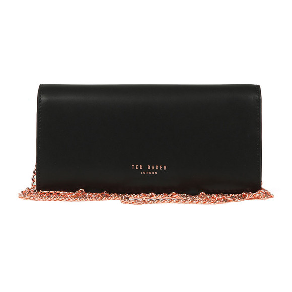 Ted Baker Womens Black Natalie Metal Bar Matinee With Chain main image
